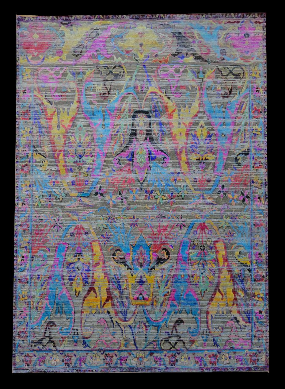 TRG 1001 INDIA SARI SILK 8 X 10_1