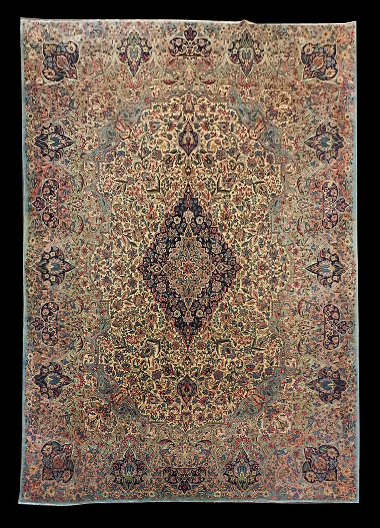 LA 550 PERSIAN KERMAN 9 X 12.2_1