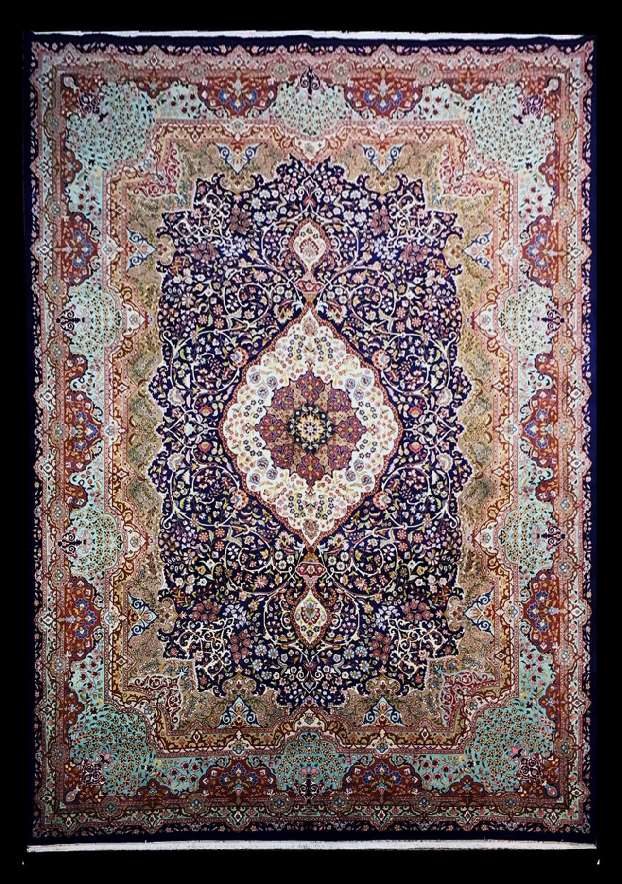 LA 874 PERSIAN TABRIZ 9.9 X 13.8_1B