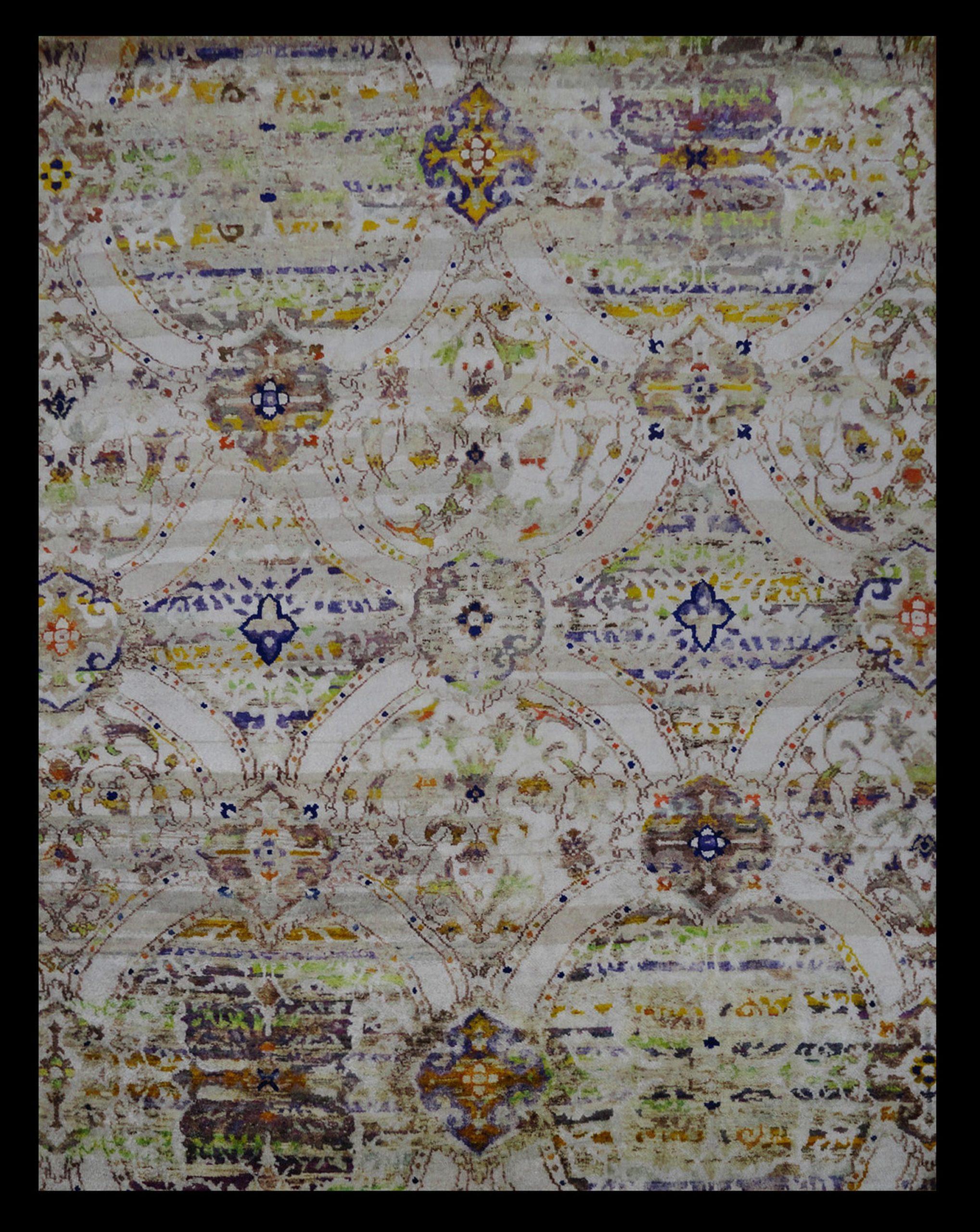TRG 1002 INDIA SARI SILK 7.11 X 9.10_1