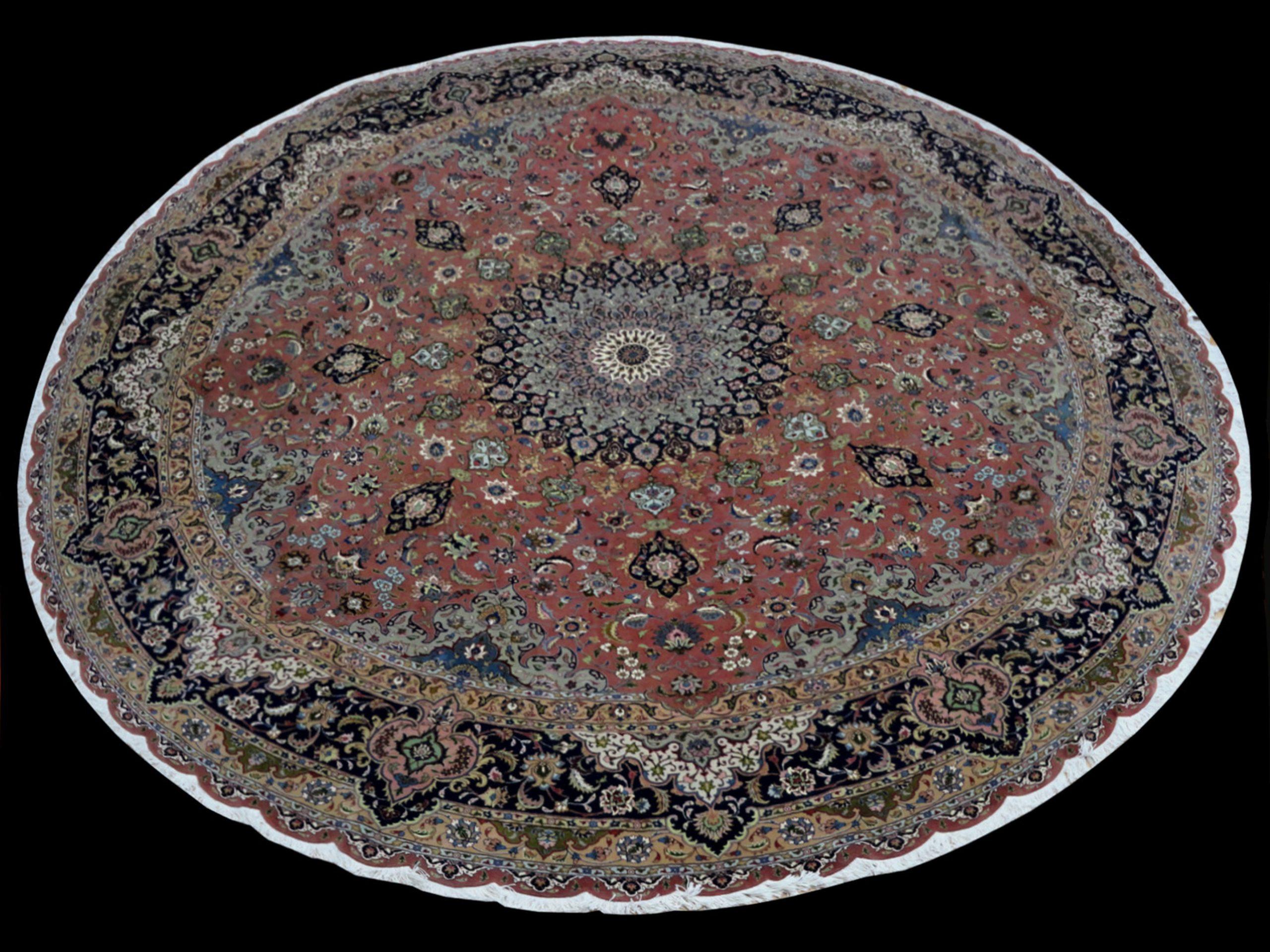 TRG 20816 PERSIAN TABRIZ 13 X 13